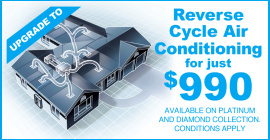 Reverse Cycle Air Conditioning for just $990